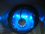 Blue LED Anchor Light with 5 Meters of Fully Tinned Cable & Cigarette Lighter Plug