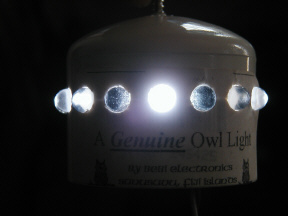 Owl LED Anchor Light